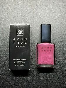 Avon True Color Pro+ Nail Enamel - Berry Shimmer Discontinued Retired New