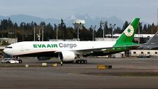 JC Wings JC2039 1/200 EVA Air Cargo Boeing 777-200 (LRF) B-16781 avec support