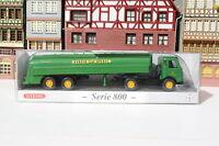 "Mercedes Pullman Tank-Sattelzug von BP in OVP ""PMS Serie 800"" (Wiking/R/L 513"
