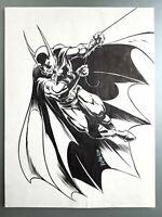 Comic Originalzeichnung | Tim Vigil (signiert) | BATMAN PinUp