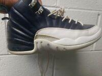 "Air Jordan Retro 12 ""Obsidian"" 100% Authentic Sz 5Y 153265-410"