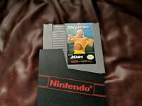 WWF WRESTLEMANIA - NES GAME CARTRIDGE AND CASE free ship
