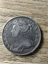 More details for 1713 queen anne halfcrown, nice