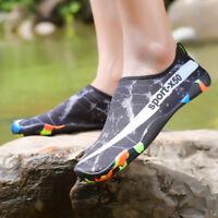 Mens Sports Water Shoes Barefoot Quick Dry Diving Swim Surf Aqua  Pool Beach
