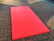LARGE HIGH QUALITY Gymnastics Dance Crash Mat RED (MMA / Judo / BJJ) 40MM THICK!