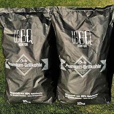20kg BBQKontor Premium Buchenholzkohle Grillkohle Holzkohle 100 Natur Top