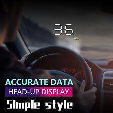 EOBD Auto GPS OBD2 HUD Head Up Display Tachometer Geschwindigkeitswarnung NEU DE
