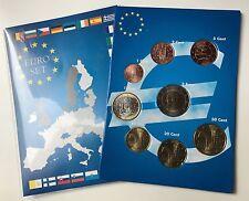 EURO-KMS Zwergstaaten-Mix: ANDORRA+MONACO+SAN MARINO+VATIKAN  8 Münzen 2004-2017