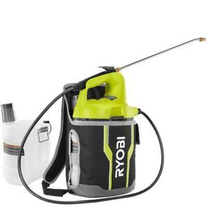 RYOBI Backpack Chemical Sprayer 2 Gal. 18V Lithium-Ion Cordless (Tool Only)