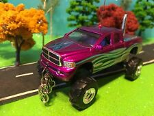1/64 Custom 1972 Chevy Cheyenne, G5 Lift Kit, Chrome Pipe, Front/Rear Log Chains