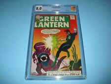 Green Lantern #8 CGC 8.0 w/ WHITE PAGES from 1961! DC A59