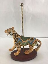 Treasury Of Carousel Art Tiger The Franklin Mint Figurine Mint Condition