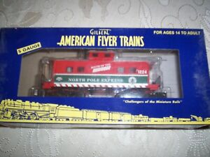 American Flyer #49062 Route of The Reindeer Animated  Caboose #1224