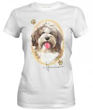Señora camisa havaneser 2 Signature Dogs motivo by siviwonder