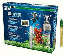 JBL m2003 Aquarium CO2 Mehrweg-Düngeanlage 2 kg Flasche pH-Controller Elektrode
