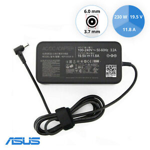 Original Asus ADP-230GB 19.5V 11.8A 230W AC Power Adapter 6 mm x 3,7 mm