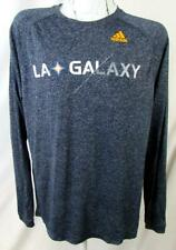 Los Angeles Galaxy Mens M Adidas Long Sleeve Screened Performance T-shirt LAG 5