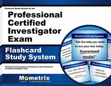 Flashcard Study System for the Professional Certified Investigator Exam