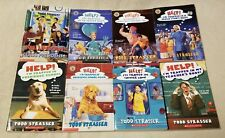 Lot of 8 TODD STRASSER Chapter Books 7 HELP I'M TRAPPED IN... Scholastic GUC