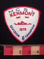 Vtg 1979 MCSL KENMONT DIVISION CHAMPION Swim Patch 79WI
