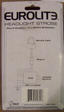 Eurolite Headlight Strobe  - Clear  flashing light CLEARNACE!
