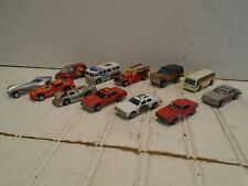 Hot Wheels Vintage 1970s Lot of 12 - All Hong Kong Police Fire Chief Fire Truck