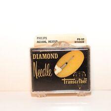 Transcriber Diamond Needle PS-52 - Phillips AG-3306, AG-3310