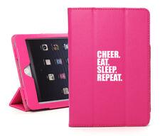 For iPad 2 3 4 5 Air Mini Pro Smart Case Cheer Eat Sleep Repeat Cheerleader