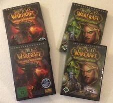 World Of WarCraft The Burning Crusade & Cataclysm im Bundle 2* DVD BOX in Karton