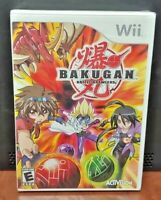 Bakugan Battle Brawlers - Nintendo Wii and Wii U Rare Game - Brand New Sealed