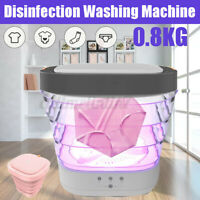 Portable Washing Machine Disinfect Electric Folding Automatic Laundry Clothes A