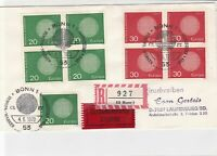 germany 1970 europa stamps cover ref 20250