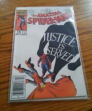 000 Vintage Marvel The Amazing Spiderman #278 Comic Book Justice Is Served