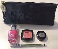 Estee Lauder Make Up Bag & 4 Pc Make Up Kit NYX, Cover Girl & Maybelline