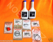 NEW GENUINE ACURA Power Steering Pump Oil O-Ring Seals & Fluid Reseal 9 pc Kit