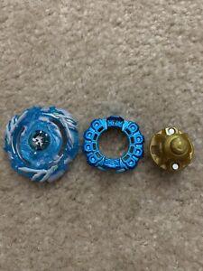 Takara Tomy Beyblade Burst B-00 Drain Fafnir 8 Nothing Crystal Blue Version Rare