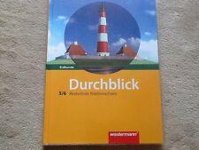 Durchblick Erdkunde 5/6 5 6 Klasse Schülerband Realschule Niedersachsen