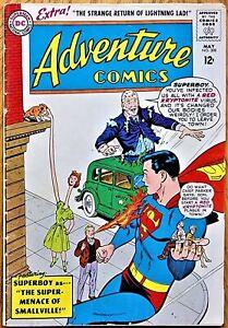 ADVENTURE COMICS #308  (1963)  SUPERBOY - 1st App. of LIGHTNING LASS in Legion
