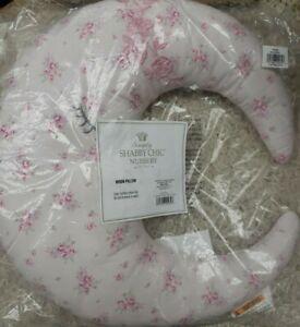 "Simply Shabby Chic Nursery Moon Pillow 16""x16"" New"