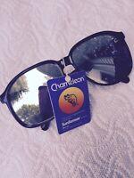 """Vintage Corning """"Chameleon""""  SunSensor Sunglasses With Mirror Lenses"""