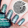 Nagel Schablone BORN PRETTY 55 Nail Art Stamp Stamping Template Plates