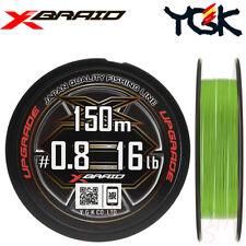 YGK 150 m X-BRAID UPGRADE X8 braided PE0.8 16 LB 8 Braided Fishing Line