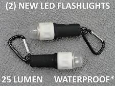 World's Best Led Flashlight Very Bright Even Underwater Aaa Powered 2 /$18.95