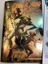CYBERFROG: REKT PLANET PREVIEW BOOK Foil Cover!