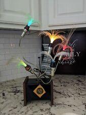 """Vintage Mid Century Poly-Optics 5 Arm Fiber-optic Lamp """"Essence"""" D-201 (#2)"""