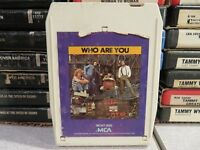 THE WHO Who Are You (8-Track Tape)