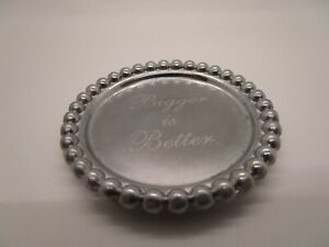 Mudpie Trinket Tray for Jewelry Bigger is Better or bangle bling- YOU CHOOSE