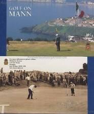 INSEL MAN - 1997 MARKENHEFT MH 40 - GOLF ** BOOKLET