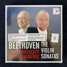 Robert Casadesus & Zino Francescatti - Beethoven: The Violin Sonatas, 5CD, 2020