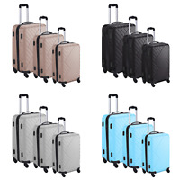 Suitcase Trolley Wheel Set  Lightweight Luggage Travel Cases